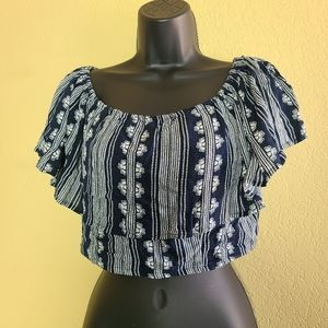 NWT Band of Gypsies Crop Top